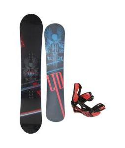 LTD Quest Snowboard 157 w/ Lamar Wrap Snowboard Bindings