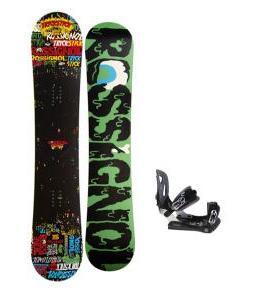 Rossignol Trickstick Amptek Snowboard 151 w/ Lamar MX30 Snowboard Bindings