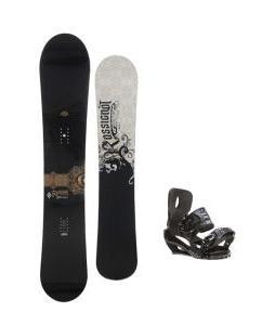 Rossignol Sultan Midwide Snowboard 155cm w/ Sapient Stash Snowboard Bindings