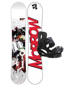 Morrow Radium Wide Snowboard 159 w/ Sapient Wisdom Snowboard Bindings