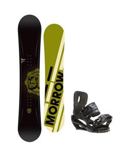 Morrow Radium Snowboard 151 w/ Sapient Stash Snowboard Bindings