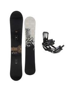 Rossignol Sultan Midwide Snowboard 155cm w/ Salomon Pact Snowboard Bindings