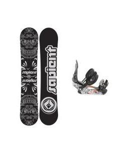 Sapient Outlaw Snowboard 154 2014 w/ Ride LX Snowboard Bindings