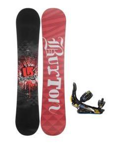 Burton Verdict Snowboard w/ Rome S90 Snowboard Bindings