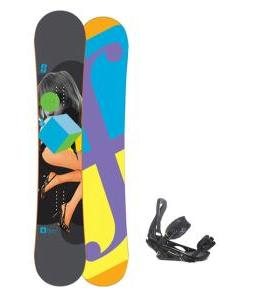 Forum Youngblood Doubledog Snowboard 156 w/ Burton P1.1 Snowboard Bindings