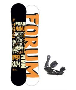Forum Manual Snowboard 150 w/ Burton P1.1 Snowboard Bindings