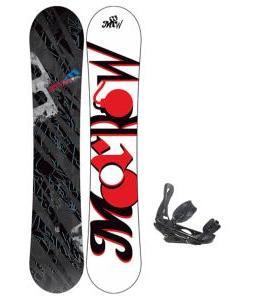 Morrow Fury Snowboard 151 w/ Burton P1.1 Snowboard Bindings