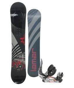 Lamar Mission Snowboard 163 w/ Ride LX Snowboard Bindings