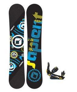 Sapient Cog Snowboard 148 2014 w/ Rome S90 Snowboard Bindings