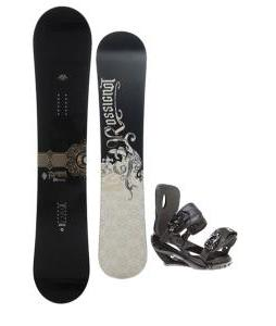 Rossignol Sultan Snowboard 150cm w/ Sapient Wisdom Snowboard Bindings