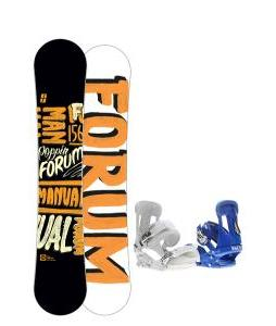 Forum Manual Snowboard 156 w/ Forum Faction Snowboard Bindings