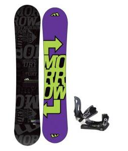 Morrow Fury Snowboard 163 w/ Lamar MX30 Snowboard Bindings