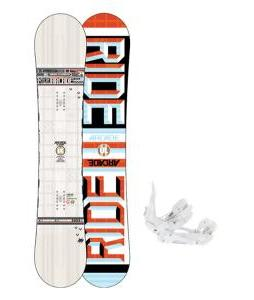 Ride Arcade UL Snowboard w/ Ride EX Snowboard Bindings