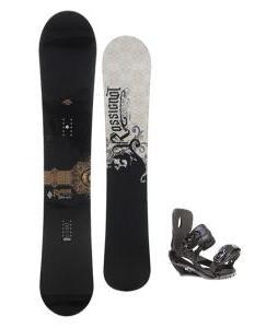 Rossignol Sultan Midwide Snowboard 155cm w/ Sapient Wisdom Snowboard Bindings