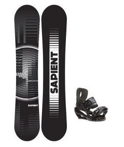 Sapient Sector Snowboard 148 2014 w/ Sapient Stash Snowboard Bindings