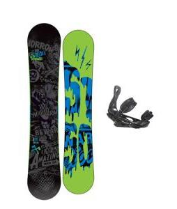 5150 Movement Snowboard 158 w/ Burton P1.1 Snowboard Bindings
