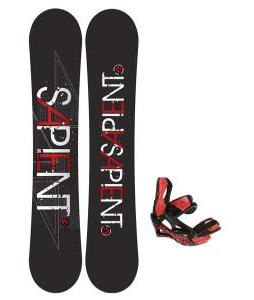 Sapient Future Snowboard 156 2014 w/ Lamar Wrap Snowboard Bindings