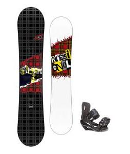 Rossignol Contrast Snowboard 150 w/ Sapient Wisdom Snowboard Bindings