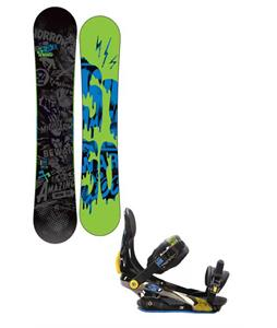 5150 Movement Snowboard 158 w/ Rome S90 Snowboard Bindings
