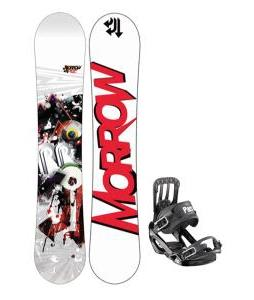 Morrow Radium Snowboard 159 w/ Salomon Pact Snowboard Bindings