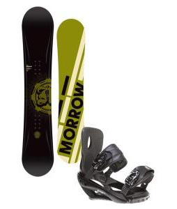 Morrow Radium Snowboard 151 w/ Sapient Wisdom Snowboard Bindings