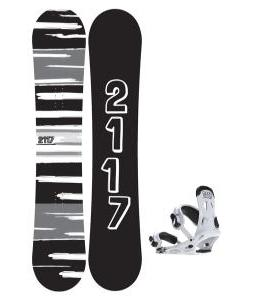 2117 Of Sweden Fader Snowboard 151 2014 w/ 2117 Of Sweden Storm Snowboard Bindings 2014