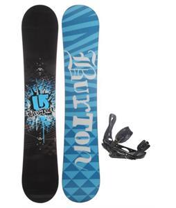 Burton Verdict Snowboard w/ Burton P1.1 Snowboard Bindings