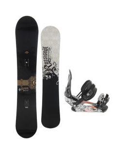 Rossignol Sultan Midwide Snowboard 155cm w/ Ride LX Snowboard Bindings