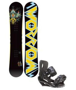 Morrow Truth Snowboard 158 w/ Sapient Fusion Snowboard Bindings