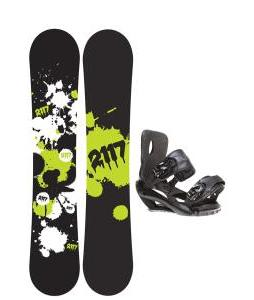 2117 Of Sweden Identity Wide Snowboard 155 2014 w/ Sapient Fusion Snowboard Bindings