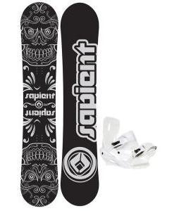 Sapient Outlaw Wide Snowboard 157 2014 w/ Sapient Zeus Snowboard Bindings