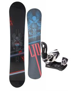 LTD Quest Snowboard 157 w/ LTD LT35 Snowboard Bindings