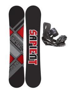Sapient Future Snowboard 156 2014 w/ Sapient Fusion Snowboard Bindings