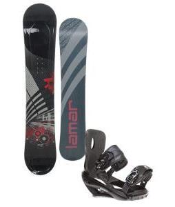 Lamar Mission Snowboard 163 w/ Sapient Wisdom Snowboard Bindings