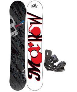 Morrow Fury Snowboard 163 w/ Sapient Fusion Snowboard Bindings