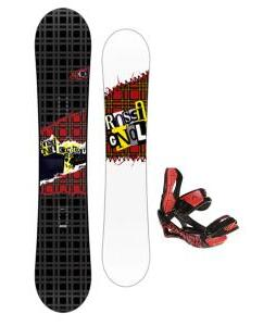 Rossignol Contrast Snowboard 150 w/ Lamar Wrap Snowboard Bindings