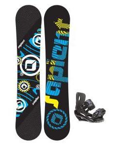 Sapient Cog Snowboard 153 2014 w/ Sapient Fusion Snowboard Bindings