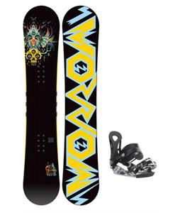 Morrow Truth Snowboard 155 w/ Ride LX Snowboard Bindings