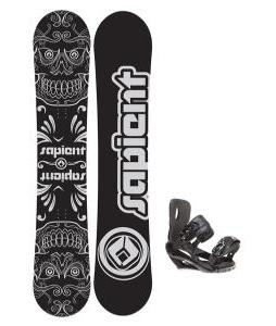 Sapient Outlaw Wide Snowboard 157 2014 w/ Sapient Wisdom Snowboard Bindings