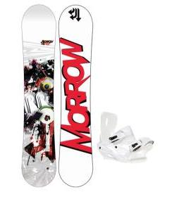 Morrow Radium Snowboard 155 w/ Sapient Zeus Snowboard Bindings