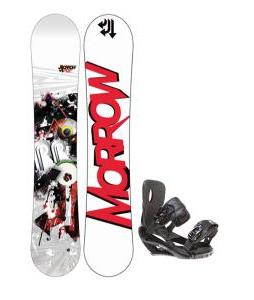 Morrow Radium Snowboard 159 w/ Sapient Wisdom Snowboard Bindings