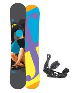 Forum Youngblood Doubledog Snowboard 154 w/ Burton P1.1 Snowboard Bindings