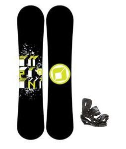 Morrow Radium Snowboard 159 w/ Burton P1.1 Snowboard Bindings
