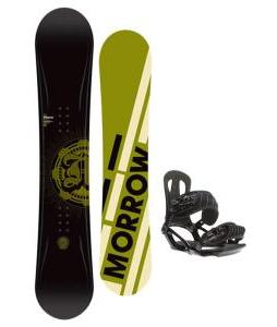 Morrow Radium Snowboard 155 w/ Head NX One Snowboard Bindings