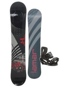 Lamar Mission Snowboard 157 w/ Sapient Stash Snowboard Bindings