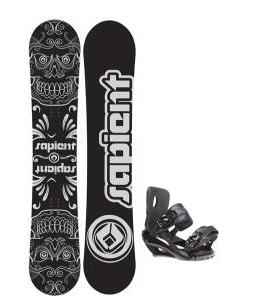 Sapient Outlaw Wide Snowboard 157 2014 w/ Sapient Fusion Snowboard Bindings