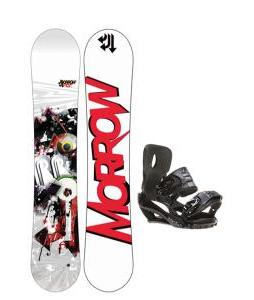 Morrow Radium Snowboard 155 w/ Sapient Stash Snowboard Bindings