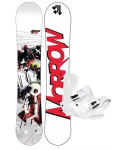 Morrow Radium Wide Snowboard 163 w/ Sapient Zeus Snowboard Bindings