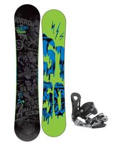 5150 Movement Snowboard 158 w/ Ride LX Snowboard Bindings