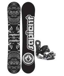 Sapient Outlaw Snowboard 150 2014 w/ Ride LX Snowboard Bindings
